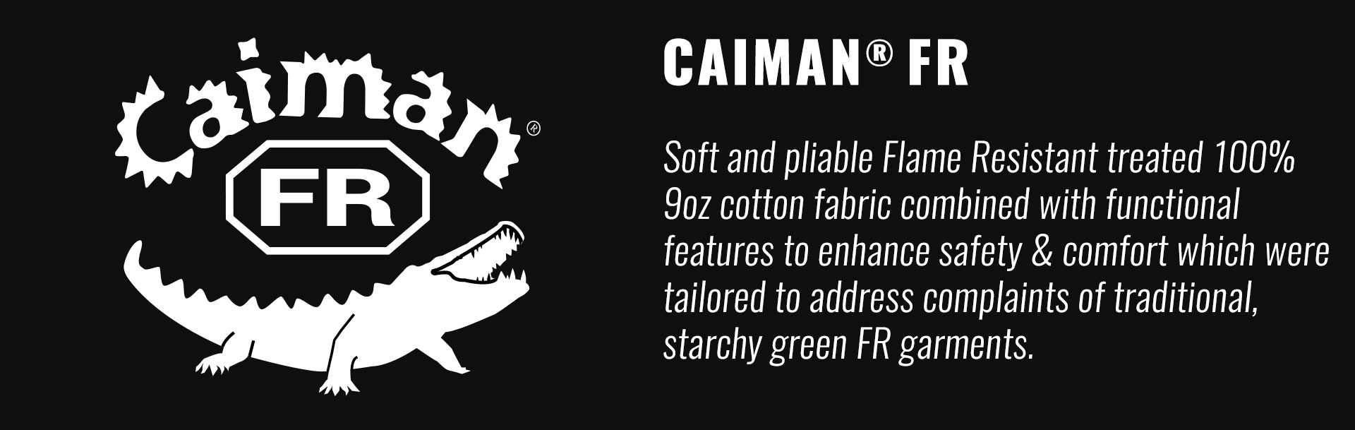 Caiman Gloves Flame Resistant