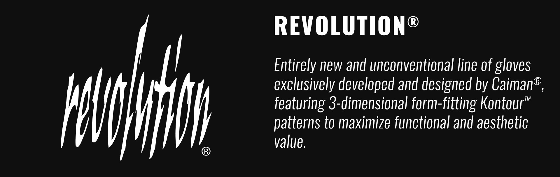 Caiman Gloves Revolution